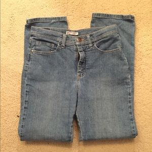 Lee classic straight leg size 6 jeans